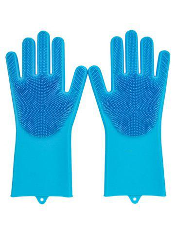 07e48e7ca7c Magic SakSak Reusable Silicone Gloves Scrubber Cleaning Brush Heat Resistant