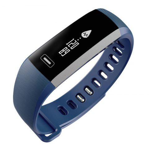New Casual Fashion Bluetooth Electronic Intelligent Sports Bracelet - BLUE