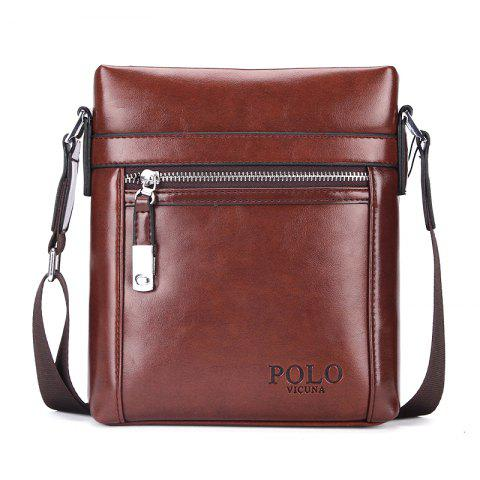 VICUNAPOLO V8806 Business Casual Men'S Bag - MAHOGANY S