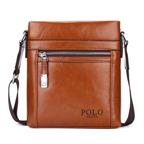 VICUNAPOLO V8806 Business Casual Men'S Bag - BROWN M