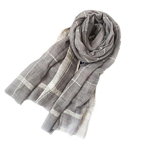 1c3d7119cdf3a Yueor Loop Yarns Scarves Woven Wool Warm Decoration Lady Scarf - WHITE 200* 90