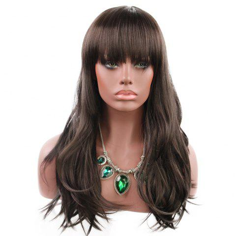 Ladies Are Stylish with Flowing Curly Hair WIG-038 - JET BLACK