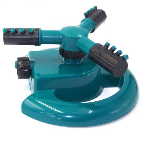 360 Degree Automatic Rotating Gardening Irrigation Sprinkler Nozzle - SEA TURTLE GREEN
