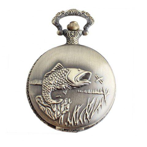 The Rib Fish Pocket Watch - BRONZE 1PC