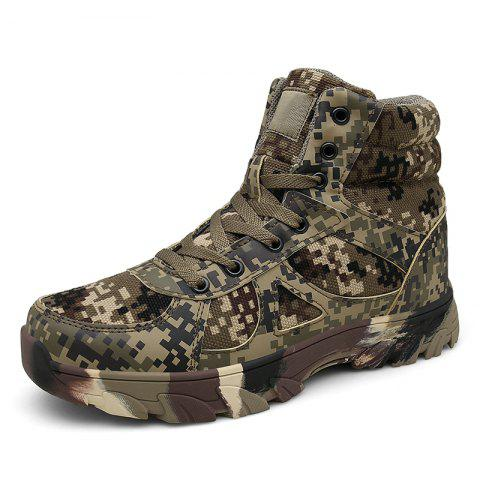 Outdoor Camping Trekking Hunting Hiking Shoes - DIGITAL DESERT CAMOUFLAGE EU 40