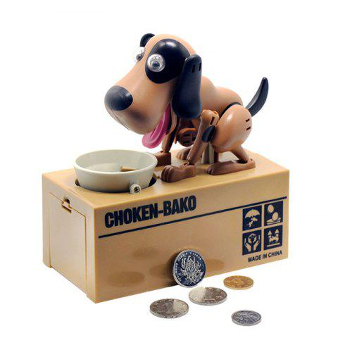 Creative Stealing Coin Bank Money Box Funny Toy - multicolor