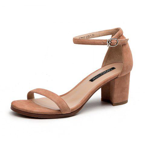 A 5CM Heel Height for Women During Commute - APRICOT EU 36