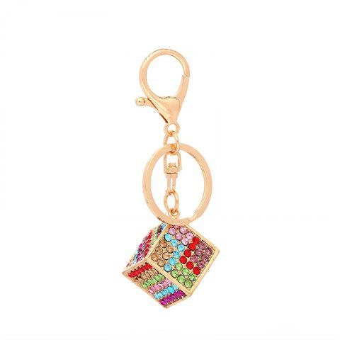 Metal Dazzles with A Key Ring - multicolor