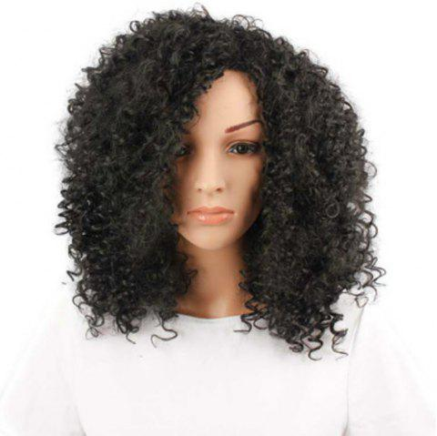 African Small Wig Headset - BLACK