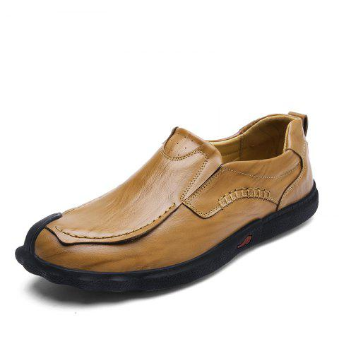Hundred and Up Fashion Casual Shoes - DARK GOLDENROD 40
