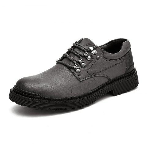 Warm and Fashionable Casual Shoes - BATTLESHIP GRAY 44