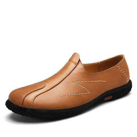 Slip on and Casual Fashion Shoes - TIGER ORANGE 40