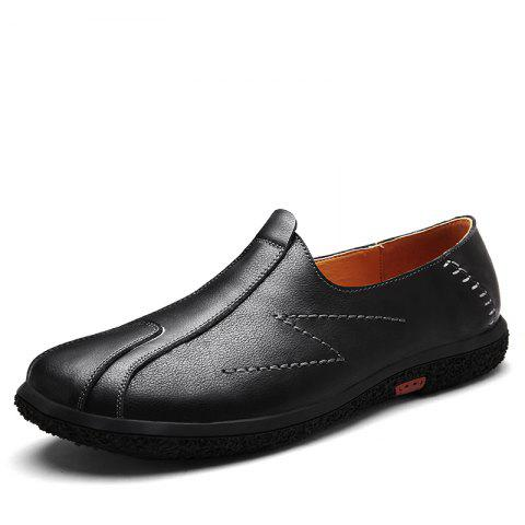Slip on and Casual Fashion Shoes - BLACK 44