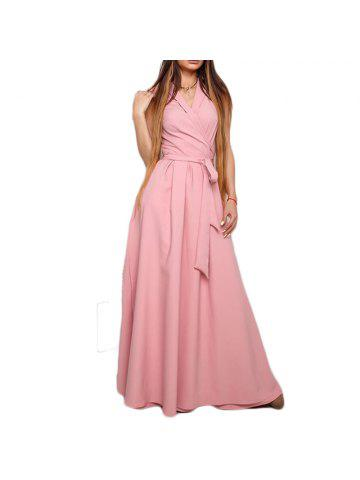 a8693a1ead Elegant Summer Long Dresses Women V-Neck Sexy Maxi Dress Style Female  Evening