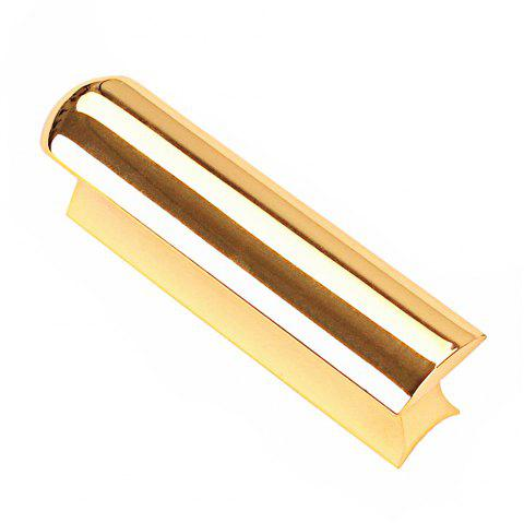 Stainless Steel Hawaii Electric Guitar Bass Lap Slide Bar Stick Sil - GOLD