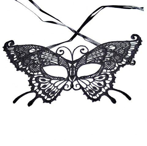 Sexy Women Black Lace Masquerade Mask Halloween Cosplay Carnaval Party Prop 23 - LUXURY CERAMIC