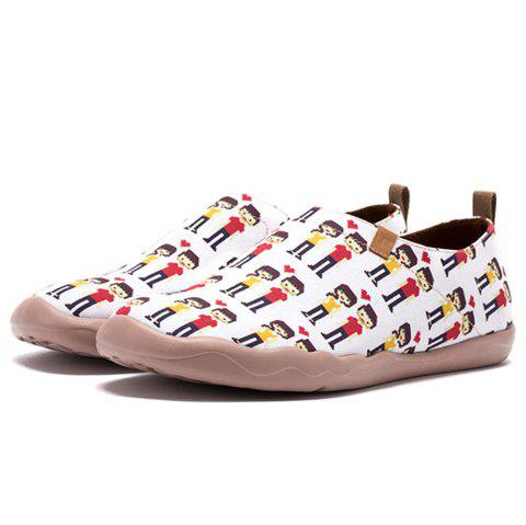 bdd87f0490 Men s Painted Canvas Slip-On Shoes Fashion Travel Shoes Art Casual Shoes -  multicolor A
