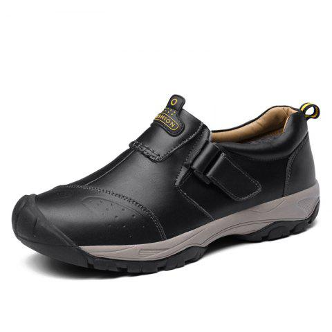Warm and Comfortable in Winter Casual Shoes for Men - BLACK EU 40
