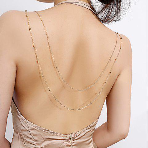 Sexy two-layer body chain - GOLD 1PC