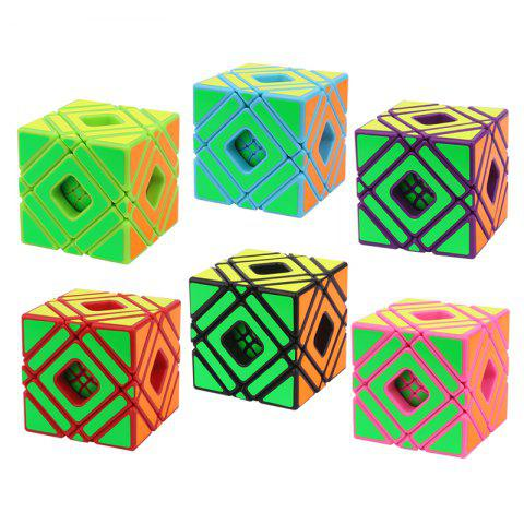 Yuxin Zhisheng Multi-Skewb Cube Shaped Cube From The Original French Desiger - PURPLE IRIS
