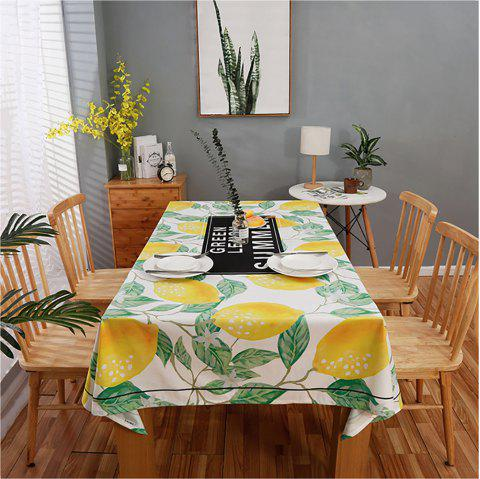 Fashion Partysu Household Table Decorations Plant Type Rectangular Table Cloth - multicolor 140*180*0.3CM
