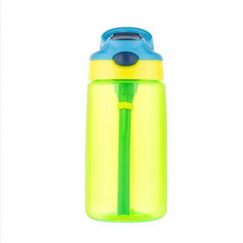 Portable duckbill bounce cover plastic cup - PISTACHIO GREEN 500ML