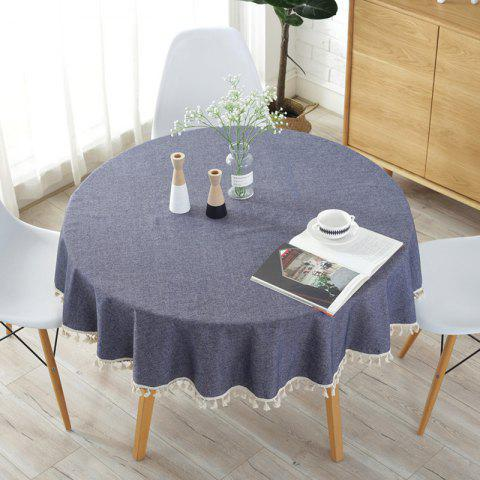 Breeze and Simple Tablecloth - JET GRAY 150*150CM