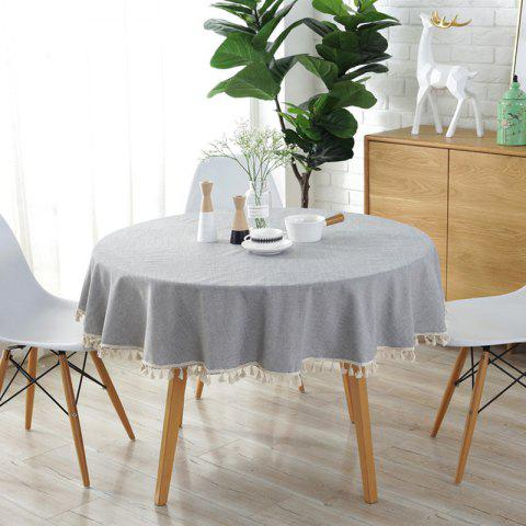 Breeze et Simple Nappe - Gris Clair 150*150CM