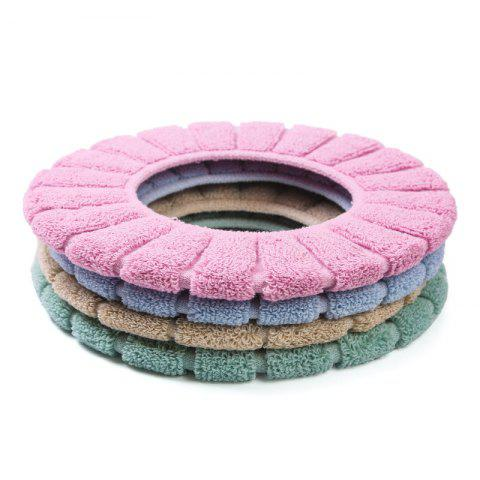 4PCS Warm and Thickened Toilet Seat Knit Pumpkin Toilet Seat Cover - multicolor 4PCS