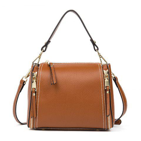Uropean and American Fashion Girls Bag Sweet Lady Single Shoulder Bag - BROWN