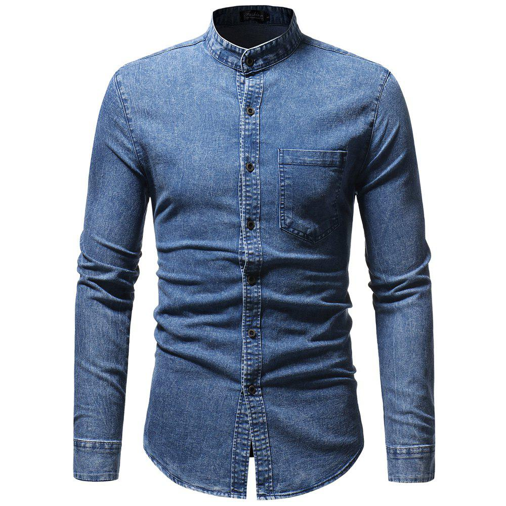 Image of Men'S Leisure and Training Cowboy Shirt