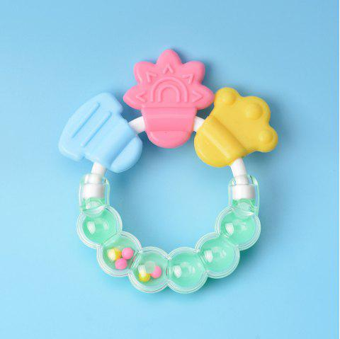 Baby's Teether Bell Cute Baby Product - LIGHT SLATE