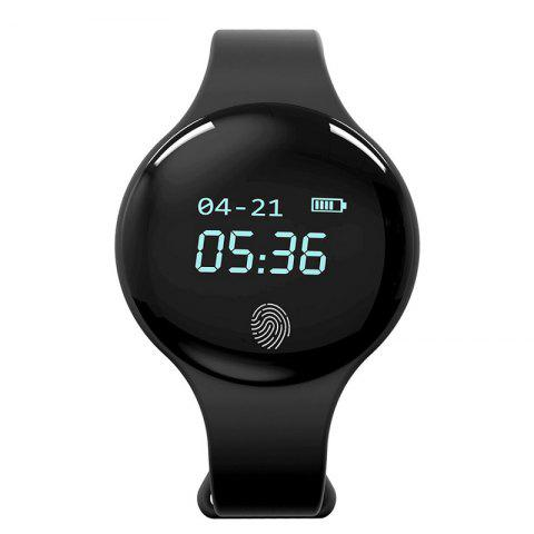 Fashion Waterproof Touch Screen Multi-Functional Smartwatch - BLACK