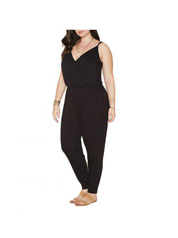 1bc55562764 Summer Style Rompers Womens Jumpsuit Solid Plus Size Women Clothing 4XL 5XL  6XL