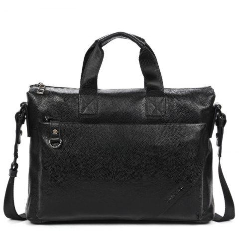 Business Briefcase Sac à main à épaule oblique - Noir