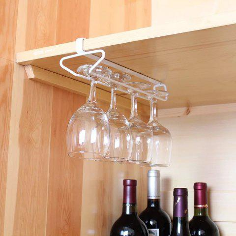 Uniserial Drinking Cup Wine Cup Holder Claret Glass Rack ZWJ008 - WHITE