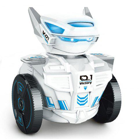 Parrokmon New Creative Gravity-Sensor Watch RC Robot Rechargeable Toy for Kids - WHITE