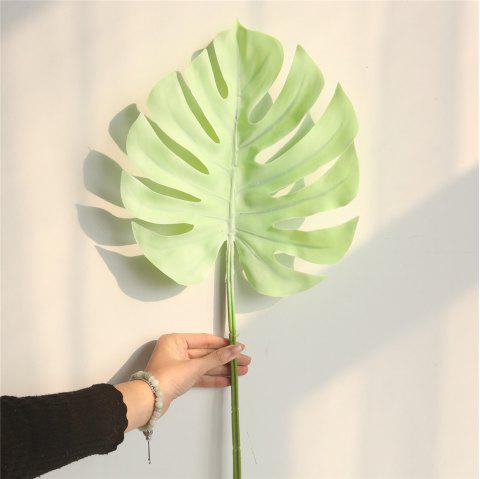 Simulation Monstera Leaves Home Wedding Decorations Artificial Flowers - multicolor B