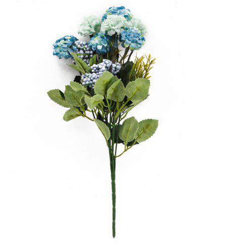 Eustoma Home Decoration Branch of Artificial Flowers - multicolor