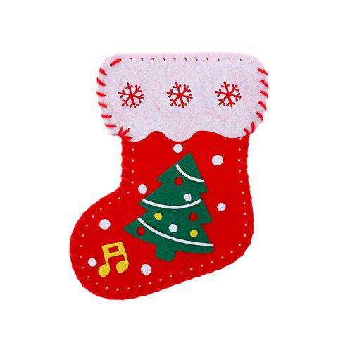 Children Diy Christmas Stockings By Hand - multicolor B
