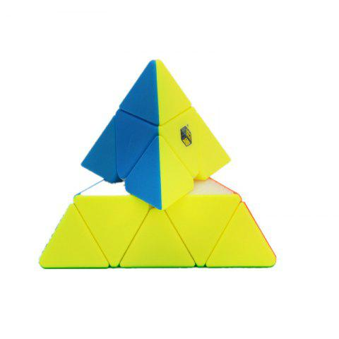 Triangle Third Order Different  cube - multicolor