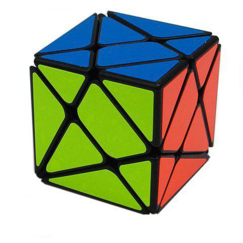 Special-Shaped Third-Order Third-Order Puzzle Changeful Magic Stone Cube - multicolor A