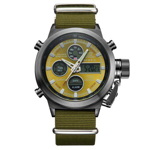Sports de plein air Montre militaire Quartz Double Movement Watch - multicolor D 1PC