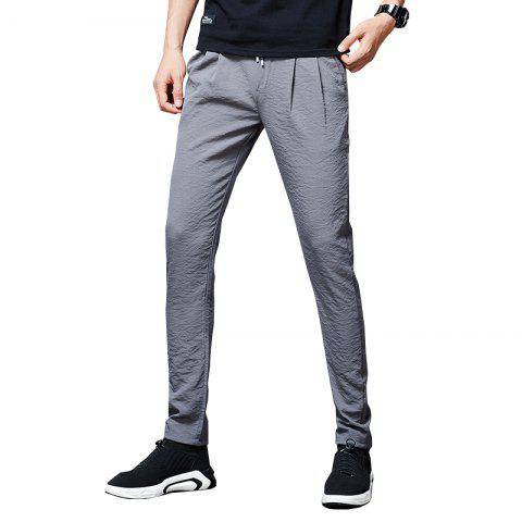 Men'S Summer Fashion Loose Sweatpants Trend Casual Pants Cool Trousers838 - PLATINUM 33