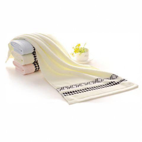 Soft Absorbent Thick Cotton Towel Without Lint - BEIGE 1PC