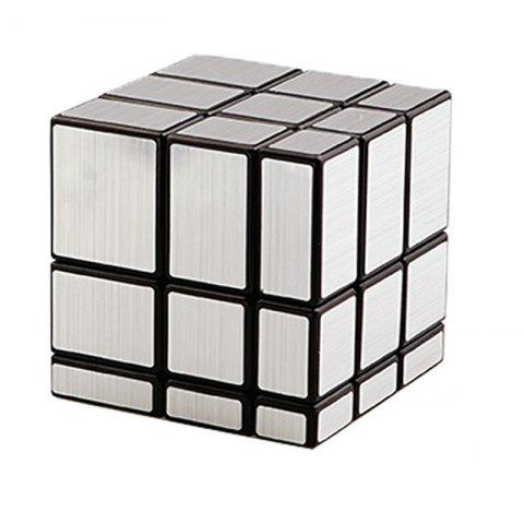 Step 3 Mirror Creative Puzzle Toys Adult Decompression Cube - SILVER