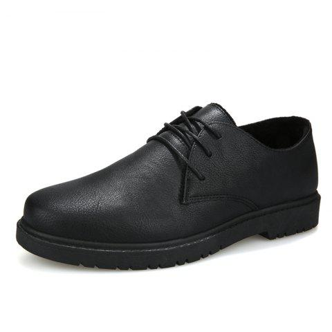 2a65ba10b229 2019 Men Shoes Boots Fashion Soft and Comfortable Shoes In BLACK EU ...