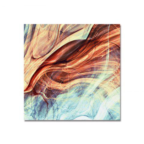 Art d'abstraction de lignes DYC - multicolor