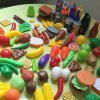 Play Food Plastic Pretend Food Vegetable Toy Set for Kids Play Kitchen Gift - multicolor A