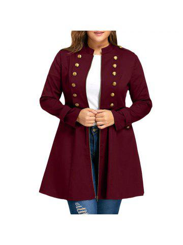 a4fba674d990 2019 Plus Size Trench Coat Online Store. Best Plus Size Trench Coat ...